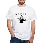 Iriteppo Deonna Custom White T-Shirt (high)