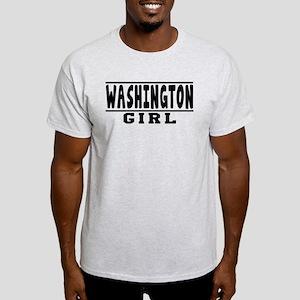 Washington Girl Designs Light T-Shirt