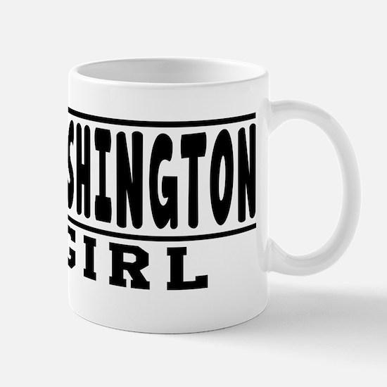 Washington Girl Designs Mug