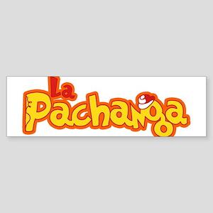 La Pachanga Havana Cuba Bumper Sticker