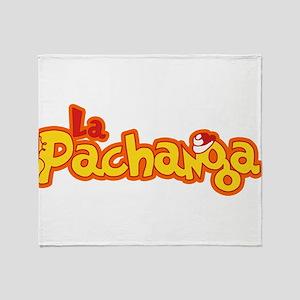 La Pachanga Havana Cuba Throw Blanket