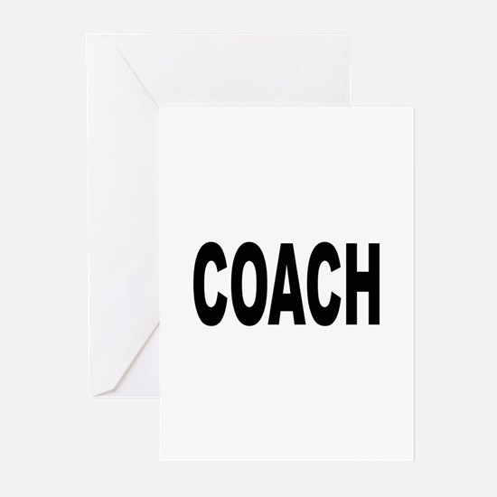 Coach Greeting Cards (Pk of 10)