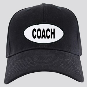 Coach Black Cap