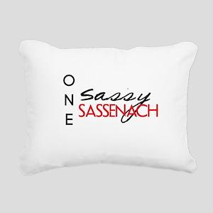 Sassy Sassenach Rectangular Canvas Pillow