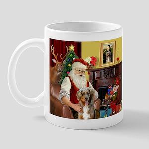 Santa's Aussie (RW5) Mug