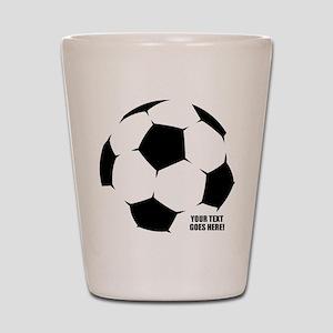 ecfd47ca5788 Youth Soccer Shot Glasses - CafePress