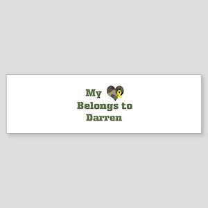 Darren: My Heart Bumper Sticker