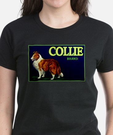 Collie Brand Women's Dark T-Shirt