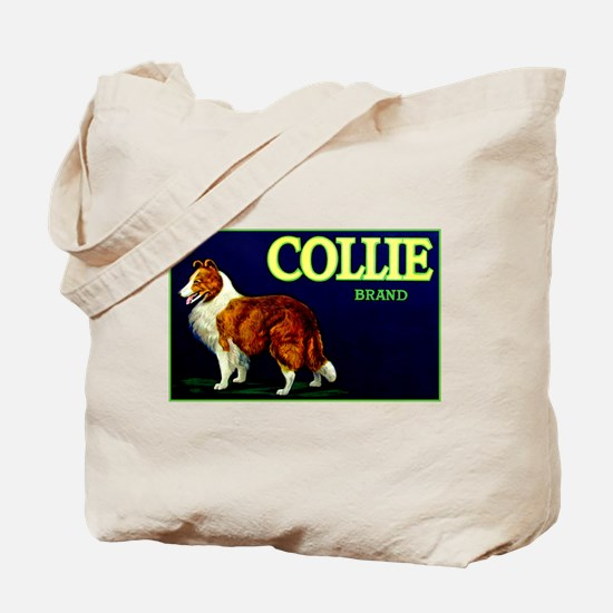 Collie Brand Tote Bag
