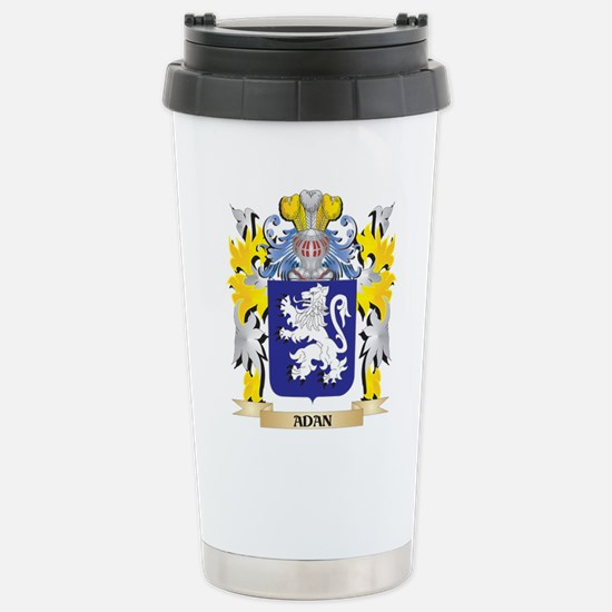 Adan Coat of Arms - Fam Stainless Steel Travel Mug