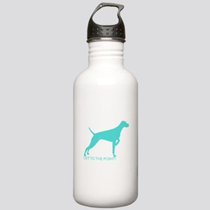 Stainless Water Bottle 1.0L - The Point Aqua