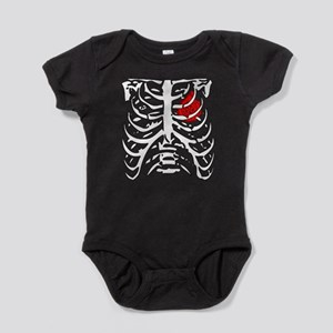 Boosted Heart Baby Bodysuit