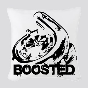 Boosted Woven Throw Pillow