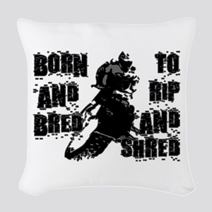 Born And Bred Woven Throw Pillow