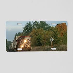 Ramblin' Freight Aluminum License Plate