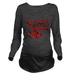 EmoLawnDesign Long Sleeve Maternity T-Shirt