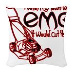 EmoLawnDesign Woven Throw Pillow