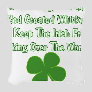 IrishWorldDesign Woven Throw Pillow
