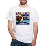 Buffalo Brand #2 White T-Shirt