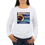 Buffalo Brand #2 Women's Long Sleeve T-Shirt