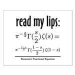 Riemann Functional Equation Small Poster