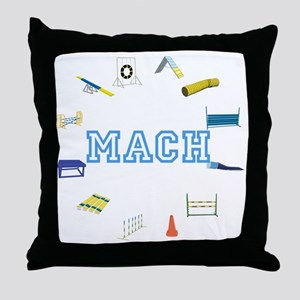 Agility MACH or whatever Throw Pillow