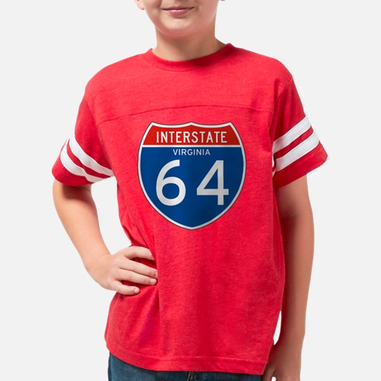 064-VA_C_tr Youth Football Shirt
