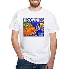 Brownies Brand White T-Shirt