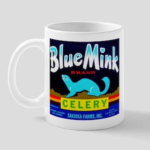 Blue Mink Brand Mug