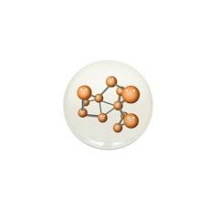 Social Network Mini Button (100 pack)