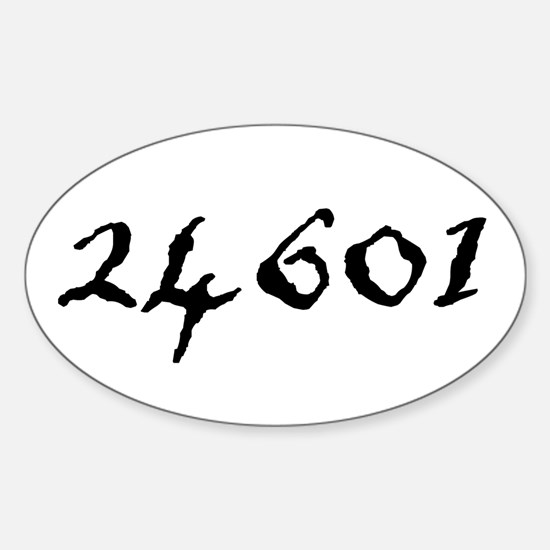 24601 Sticker (Oval)