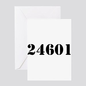 24601 Greeting Card