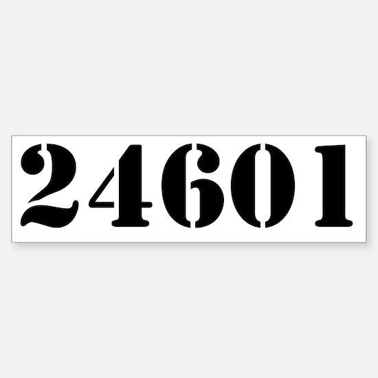 24601 Sticker (Bumper)