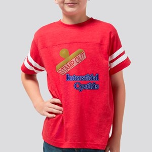 Interstitial Cystitis Youth Football Shirt