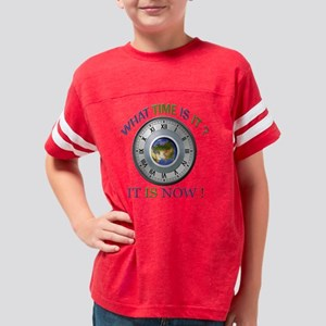 IT IS NOW Youth Football Shirt