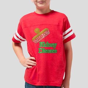 Kidney Disease Youth Football Shirt