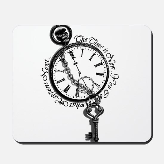 The Time is Now! Design Mousepad
