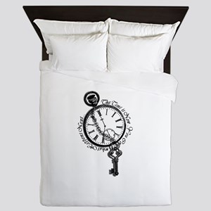 The Time is Now! Design Queen Duvet
