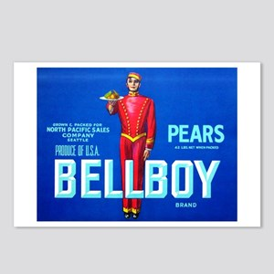 Bellboy Brand Postcards (Package of 8)