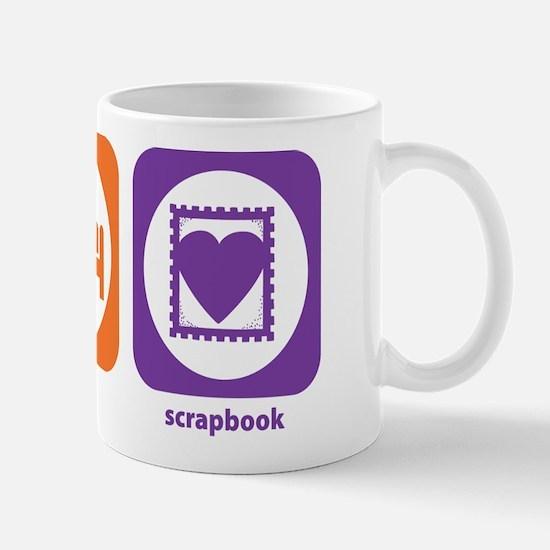 Eat Sleep Scrapbook Mug