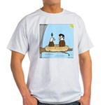 Bald Eagle Wig Light T-Shirt