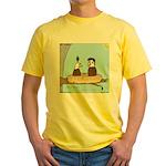 Bald Eagle Wig Yellow T-Shirt