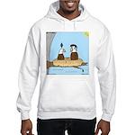 Bald Eagle Wig Hooded Sweatshirt