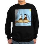 Bald Eagle Wig Sweatshirt (dark)
