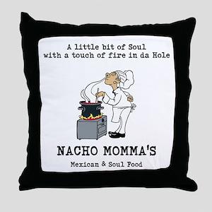 NACHO MOMMAS Throw Pillow