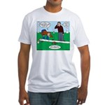 Beaver Bad Day Fitted T-Shirt