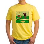 Beaver Bad Day Yellow T-Shirt