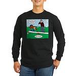 Beaver Bad Day Long Sleeve Dark T-Shirt
