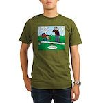 Beaver Bad Day Organic Men's T-Shirt (dark)