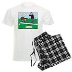 Beaver Bad Day Men's Light Pajamas